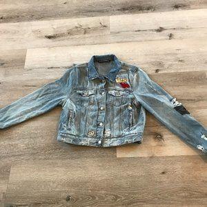 Cute Rustic Jean Jacket